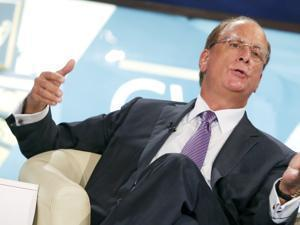 BlackRock CEO Laurence Fink.